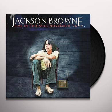 Jackson Browne LIVE IN CHICAGO NOVEMBER '76 Vinyl Record