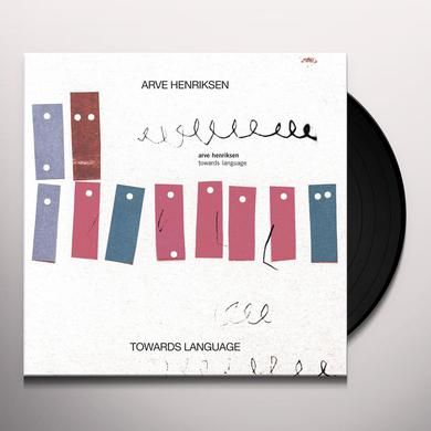 Arve Henriksen TOWARDS LANGUAGE Vinyl Record