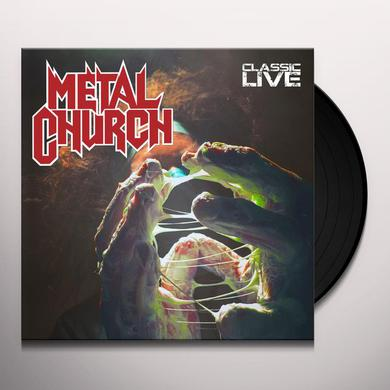 Metal Church CLASSIC LIVE Vinyl Record