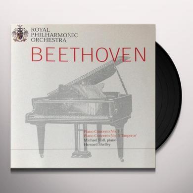 Beethoven PIANO CONCERTOS #1-5 Vinyl Record