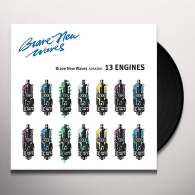 13 Engines BRAVE NEW WAVES SESSION Vinyl Record