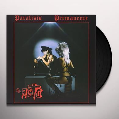 Paralisis Permanente EL ACTO Vinyl Record