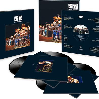 King Crimson LIVE IN TORONTO: NOVEMBER 20TH 2015 (4LP+DVD BOX) Vinyl Record