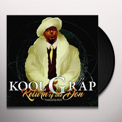 Kool G Rap RETURN OF THE DON Vinyl Record