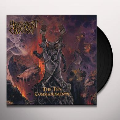 Malevolent Creation TEN COMMANDMENTS Vinyl Record