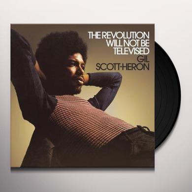 Gil Scott-Heron REVOLUTION WILL NOT BE TELEVISED Vinyl Record