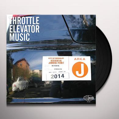 Throttle Elevator Music AREA J Vinyl Record