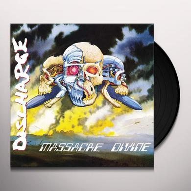 Discharge MASSACRE DIVINE Vinyl Record