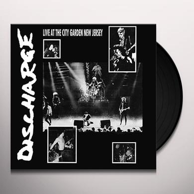 Discharge LIVE AT CITY GARDEN NEW JERSEY Vinyl Record