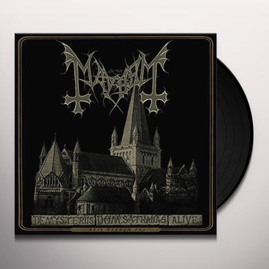 Mayhem DE MYSTERIIS DOM SATHANAS ALIVE Vinyl Record