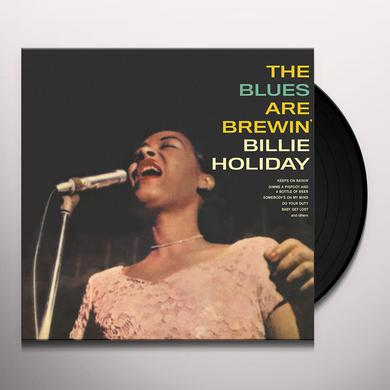 Billie Holiday BLUES ARE BREWIN' Vinyl Record