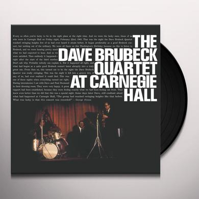 Dave Brubeck AT CARNEGIE HALL Vinyl Record