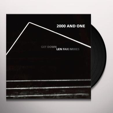 2000 and One GET DOWN (LEN FAKI MIXES) Vinyl Record