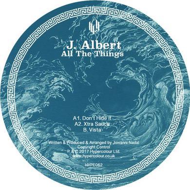 J. Albert ALL THE THINGS Vinyl Record