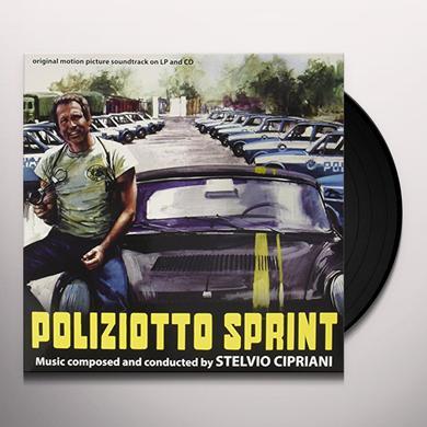 Stelvio Cipriani POLIZIOTTO SPRINT / O.S.T. Vinyl Record