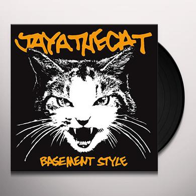 Jaya The Cat BASEMENT STYLE (WHITE VINYL) Vinyl Record