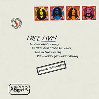 FREE LIVE Vinyl Record