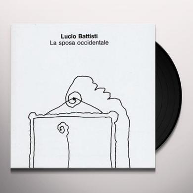 Lucio Battisti LA SPOSA OCCIDENTALE Vinyl Record