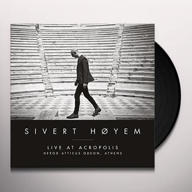 Sivert Hoyem LIVE AT ACROPOLIS: HEROD ATTICUS ODEON ATHENS Vinyl Record