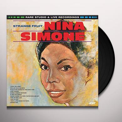 Nina Simone STRANGE FRUIT Vinyl Record