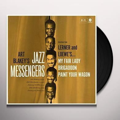 Art Blakey / Jazzmessengers PLAY LERNER & LOEWE Vinyl Record - 180 Gram Pressing, Spain Release