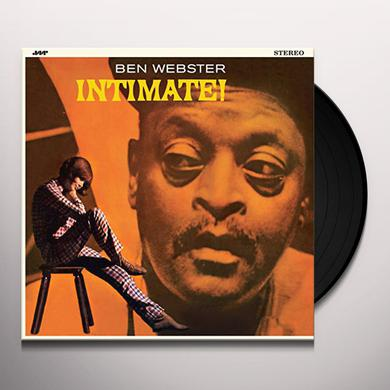Ben Webster INTIMATE Vinyl Record