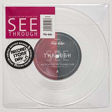 Auction For The Promise Club SEE THROUGH Vinyl Record