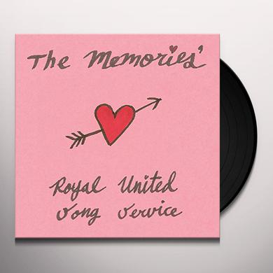 Memories ROYAL UNITED SONG SERVICE Vinyl Record