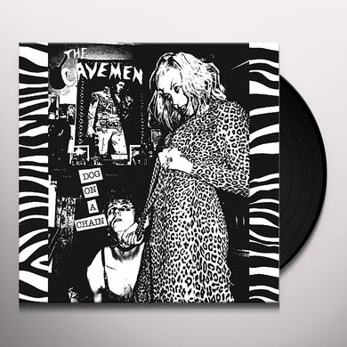 Cavemen DOG ON A CHAIN Vinyl Record