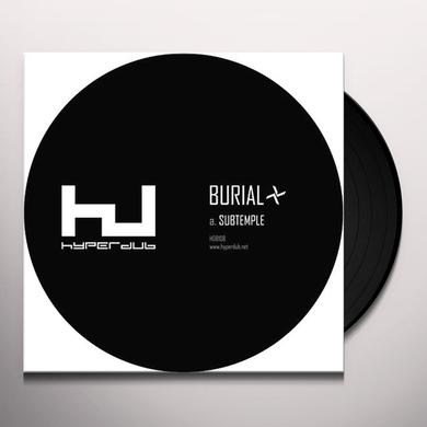 Burial SUBTEMPLE / BEACHFIRES Vinyl Record