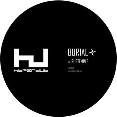 Burial SUBTEMPLE / BEACHFIRES Vinyl Record