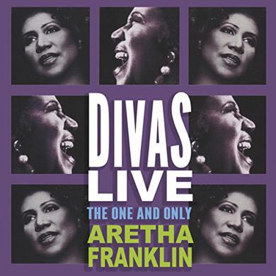 Aretha Franklin DIVAS LIVE Vinyl Record