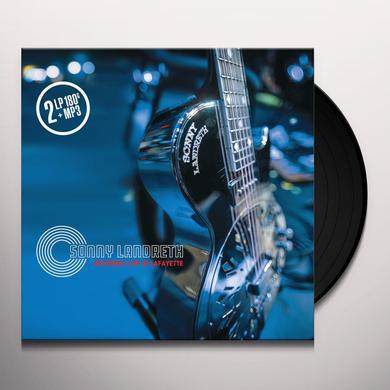 Sonny Landreth RECORDED LIVE IN LAFAYETTE Vinyl Record
