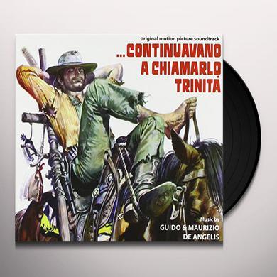 Guido De Angelis & Maurizio CONTINUAVANO A CHIAMARLO TRINITA / O.S.T. Vinyl Record