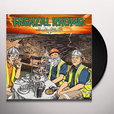 Frenzal Rhomb HI-VIS HIGH TEA (TRANSPARENT ORANGE VINYL) Vinyl Record