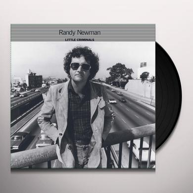 Randy Newman LITTLE CRIMINALS Vinyl Record