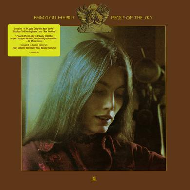 Emmylou Harris PIECES OF THE SKY Vinyl Record