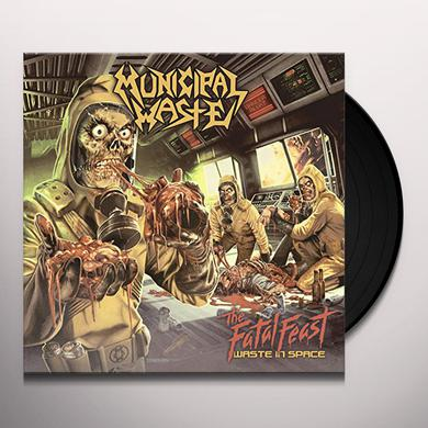 Municipal Waste FATAL FEAST Vinyl Record