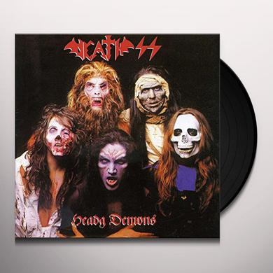 Death Ss HEAVY DEMONS Vinyl Record