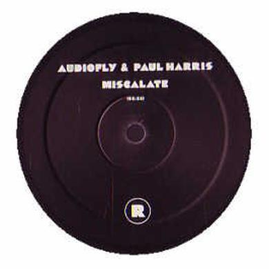 Audiofly / Paul Harris MISCALATE Vinyl Record