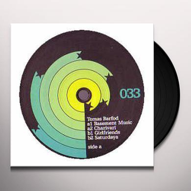 Tomas Barfod BASEMENT MUSIC Vinyl Record