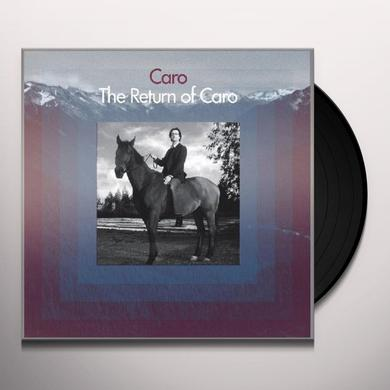 RETURN OF CARO Vinyl Record