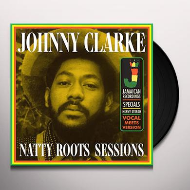 Johnny Clarke NATTY ROOTS SESSIONS Vinyl Record