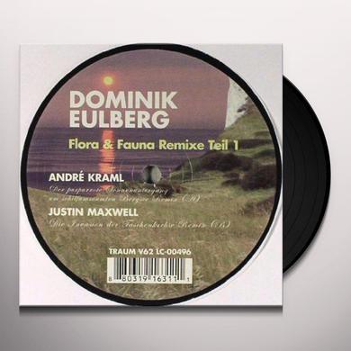 Dominik Eulberg FLORA & FAUNA REMIXE 1 Vinyl Record