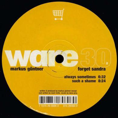 Markus Guentner FORGET SANDRA Vinyl Record
