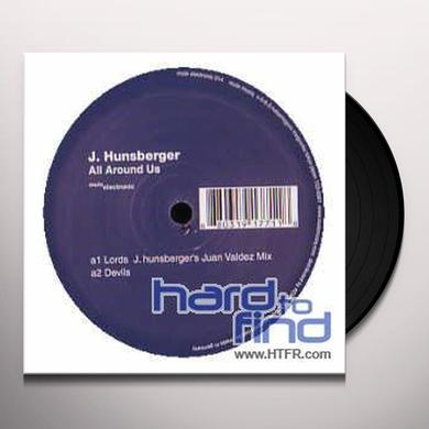 Jay Hunsberger ALL AROUND US Vinyl Record