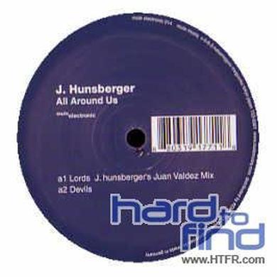 Jay Hunsberger ALL AROUND US Vinyl Record