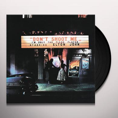 Elton John DON'T SHOOT ME I'M ONLY THE PIANO PLAYER Vinyl Record