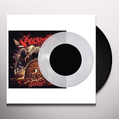Aborted BATHOS (CLEAR VINYL) Vinyl Record