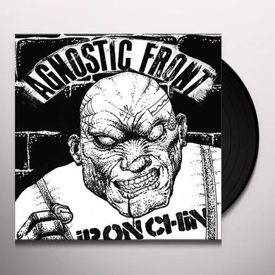 Agnostic Front IRON CHIN Vinyl Record